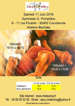 Chatswing, association de danse à Courbevoie propose un atelier et un bal  de Country Line Dance